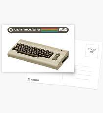 Commodore 64  Postcards