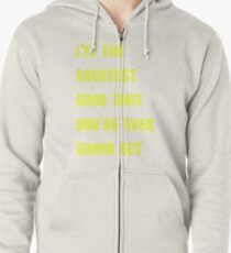 The Greater Good Zipped Hoodie