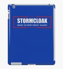 """Make Skyrim Great Again"" iPad Case/Skin"