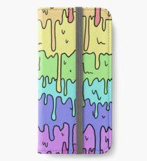 Pastel Kawaii Melting Rainbow Design  iPhone Wallet/Case/Skin