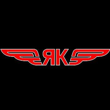 Yakovlev Aircraft Logo by warbirdwear