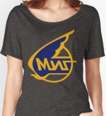 Mikoyan-Gurevich (Russian Aircraft Corporation MiG) Logo Women's Relaxed Fit T-Shirt