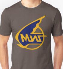 Mikoyan-Gurevich (Russian Aircraft Corporation MiG) Logo Slim Fit T-Shirt