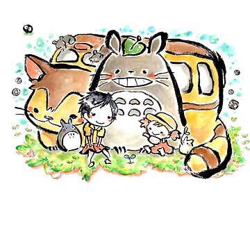Totoro by CopperChoc