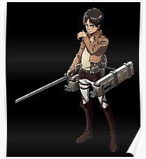 Attack on Titan - Eren Designs Poster