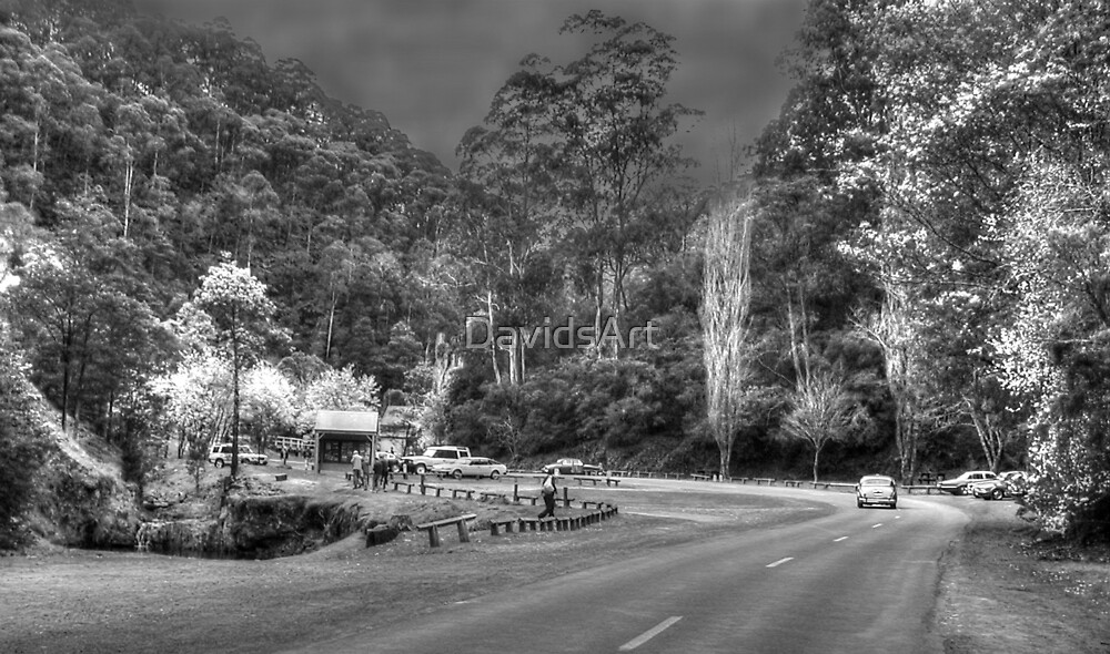 0638 The Way to Walhalla by DavidsArt