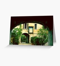 Arquitectura de Milan 01 Greeting Card