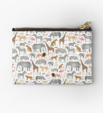 Safari Animals Studio Pouch