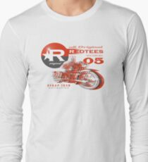 redtees moto express Long Sleeve T-Shirt