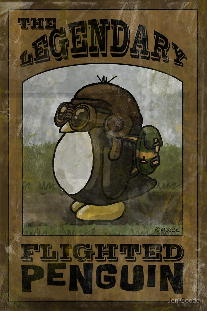 The Legendary Flighted Penguin by jgoode