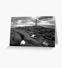 Nova Scotia lighthouse Greeting Card