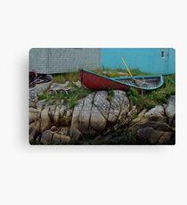 Nova Scotia skiff Canvas Print