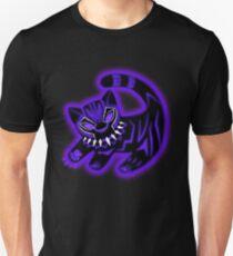 Der Panther König Lila Slim Fit T-Shirt