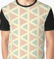 stained glass window the structure of the graphics seamless colorful repeat pattern Graphic T-Shirt