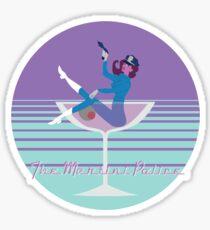 The Martini Police Sticker