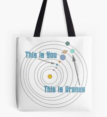 This is You This is Uranus Tote Bag