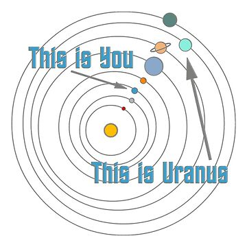 This is You This is Uranus by peaceofpistudio