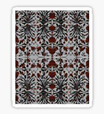 560. Taj Mahal Flowers (brush ornament) Mix 1 (P 51) Sticker