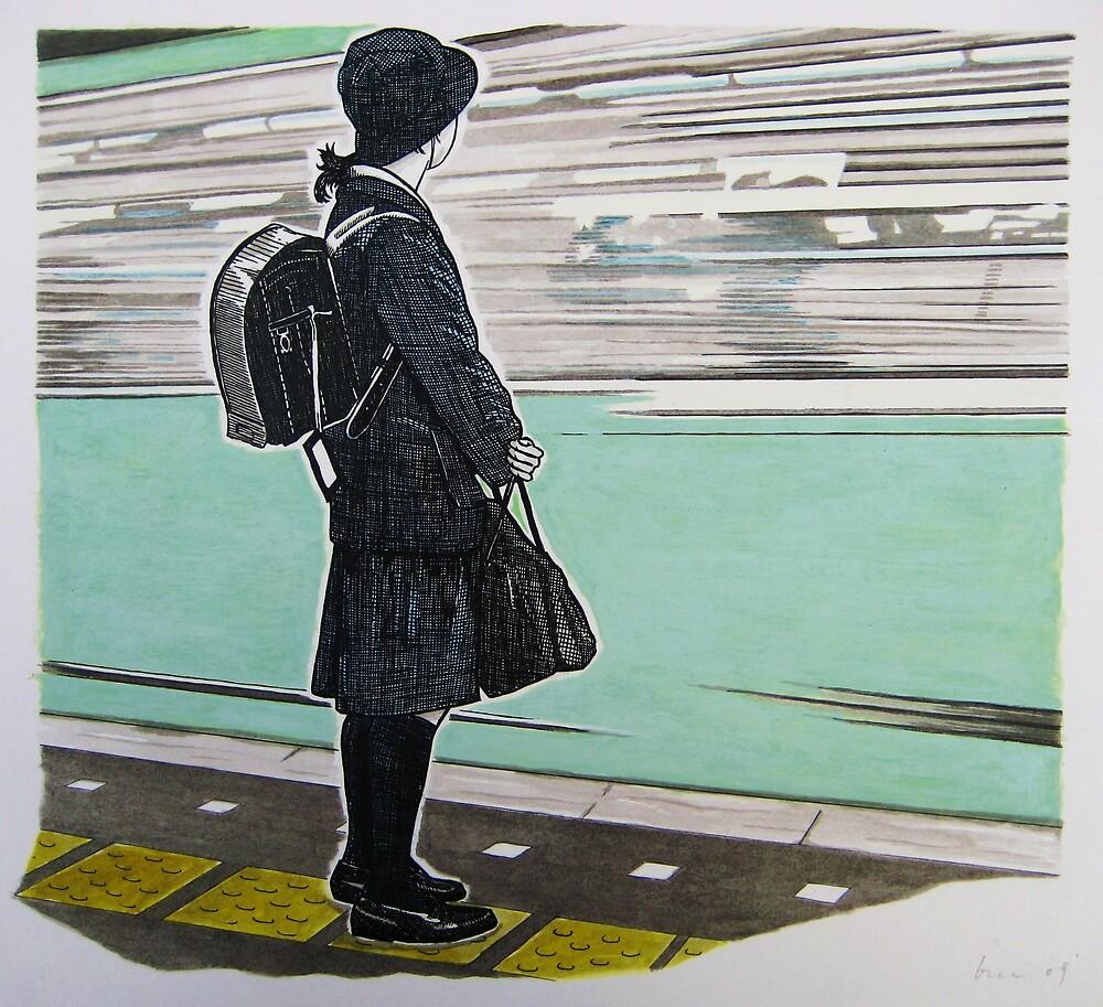 commuter by brenluke