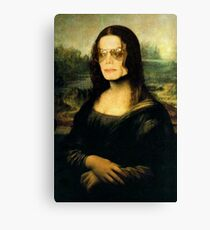 Michael Jackson Mona Lisa Canvas Print