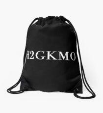 Honest to God, Knock Me Out - H2GKMO - White Drawstring Bag
