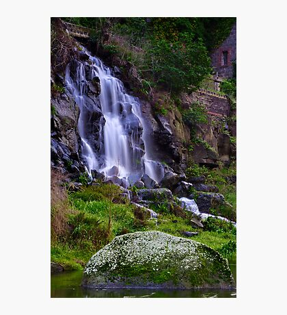 """Falling By The Mill"" Photographic Print"