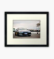 Nissan R35 GTR Framed Print