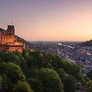 Heidelberg Evening by Michael Breitung