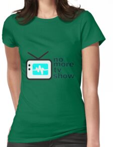 reality show Womens Fitted T-Shirt