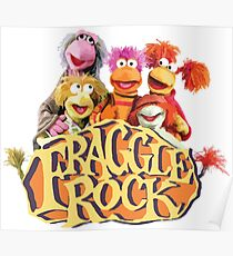 Fraggle Rock Fraggles 80s Muppets Poster