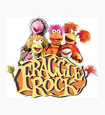 Fraggle Rock Fraggles 80s Muppets Photographic Print