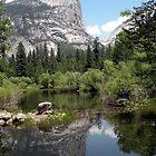 Mirror Lake Reflection of Mt. Watkins by Shaina Haynes