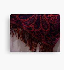 Shawl Canvas Print