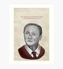 Robert Ford + Poster Art Print