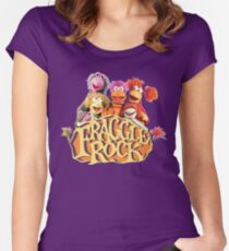 Fraggle Rock Fraggles 80s Muppets Women's Fitted Scoop T-Shirt