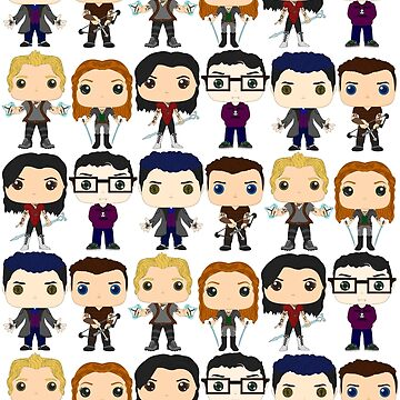 Shadowhunters pop figures by LittleDemon19