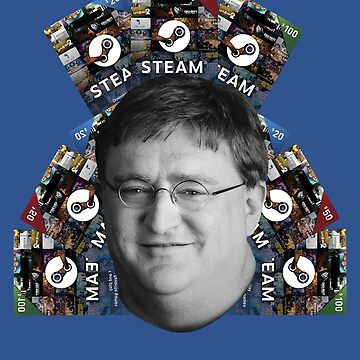 Steam Lord GabeN  by BHawk-Graphics