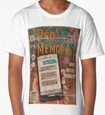 Pro Memoria - Ghost Comic Series Long T-Shirt