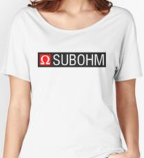 SUBOHM Women's Relaxed Fit T-Shirt
