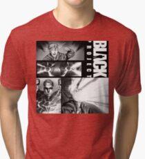 BLACK PROJECT PANEL ATTACK! Tri-blend T-Shirt