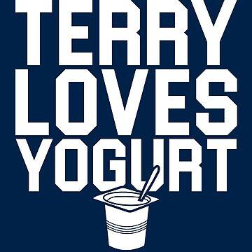 Terry Loves Yogurt by huckblade