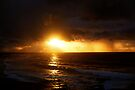 sunrise on a stormy morning three by Juilee  Pryor