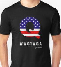 WWG1WGA Patriot Qanon T-Shirt and Apparel Unisex T-Shirt