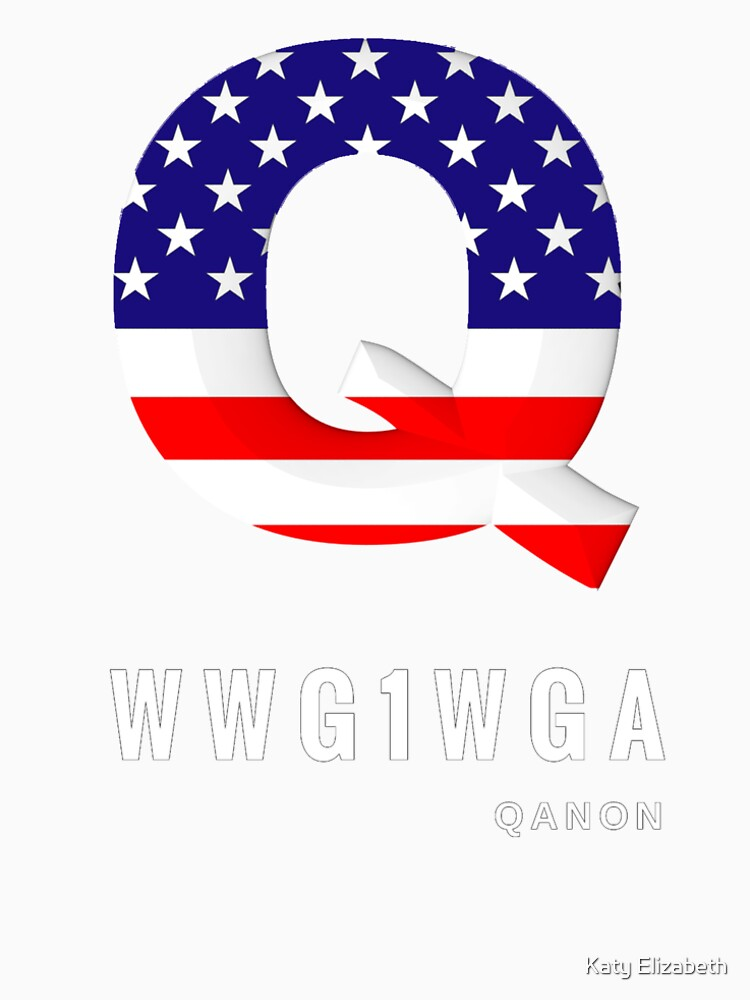 WWG1WGA Patriot Qanon T-Shirt and Apparel by JollyKRogers