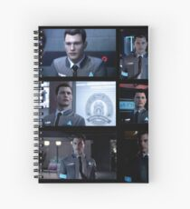 Detroit Become Human - Connor Spiral Notebook