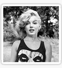 Marilyn Monroe Punk Rock Music Misfits Sticker