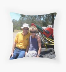 People of the Mighy Manning Valley !!! Throw Pillow