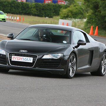 Driving the Audi R8 by bubblemonkey