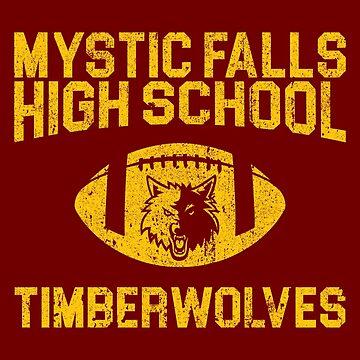 Mystic Falls Timberwolves Football by huckblade