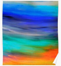Colorful Abstract by Jean Tippens Poster